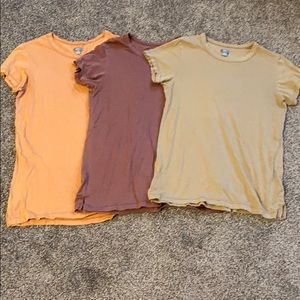 Aerie T-Shirts Lot of 3